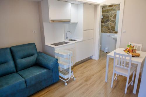Zona de estar de A Bughina apartamentos