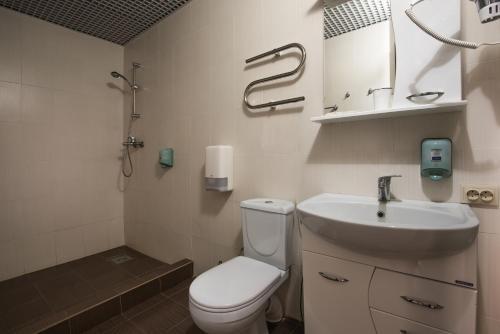 Ванная комната в Гостиница Распутин