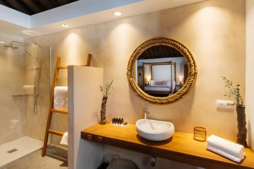 A bathroom at Hotel Boutique Palacio Ico