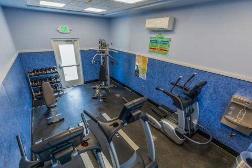 The fitness center and/or fitness facilities at Shutters on the Banks