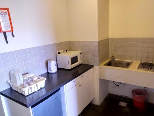 A cozinha ou cozinha compacta de Beit Alward