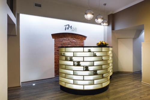 The lobby or reception area at Tim Club Hotel