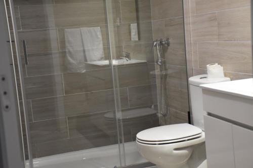 Uma casa de banho em Varandas do Mosteiro
