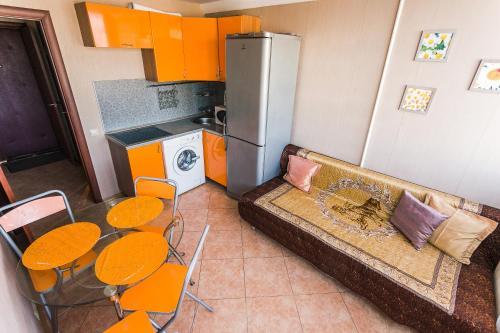 Гостиная зона в Apartments Leningradskiy prospekt