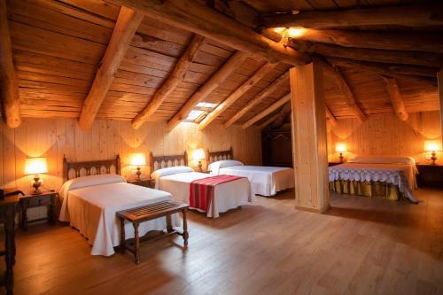 Cama o camas de una habitación en Hotel Novoa