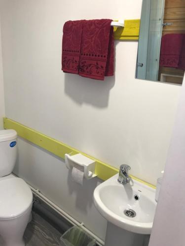 Ванная комната в LakesideBaikal