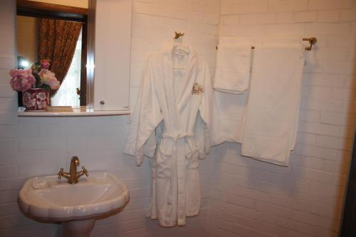 Ванная комната в Гостиница Атаманская