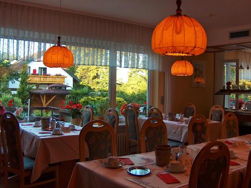 A restaurant or other place to eat at Hotel Schmid