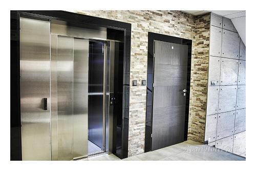 A bathroom at Apartamenty Piła
