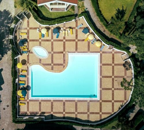 The floor plan of Aldeamento Turistico Casas da Comporta