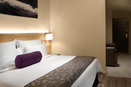 Cama o camas de una habitación en Krystal Monterrey