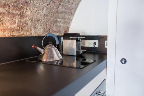 A kitchen or kitchenette at De Hoendervorst