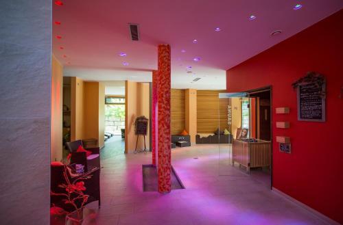 Lobby/Rezeption in der Unterkunft Hotel Herrmann