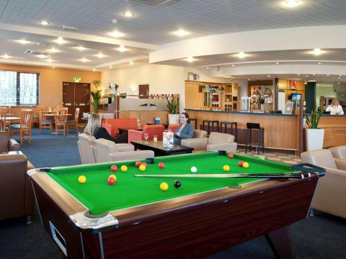 A pool table at ibis Wellingborough