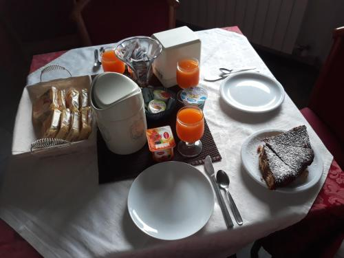 Colazione disponibile per gli ospiti di Adelphi Room & Breakfast