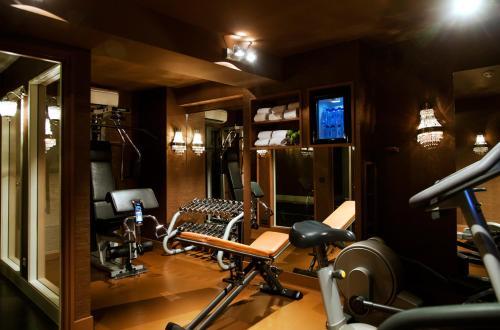 Het fitnesscentrum en/of fitnessfaciliteiten van Hotel Estheréa