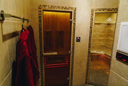 Ванная комната в Apartments on Sovetskaya 9