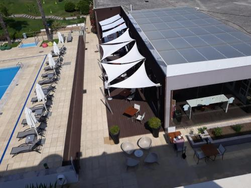A bird's-eye view of Novotel Setubal