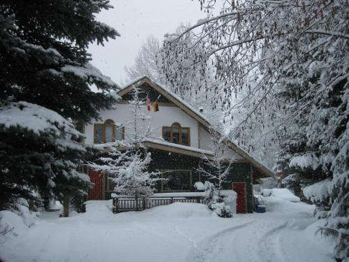 Golden Dreams B&B during the winter