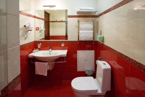Ванная комната в Отель Таёжный