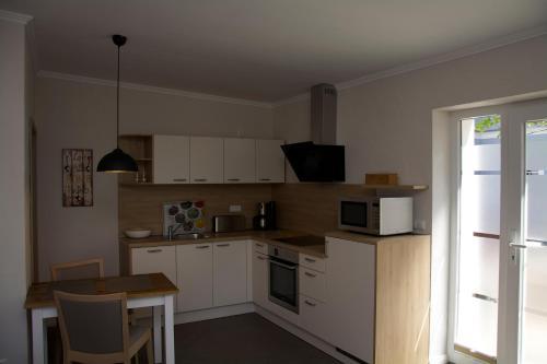 Küche/Küchenzeile in der Unterkunft Pension Kalinde