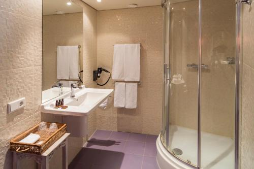 Een badkamer bij ReeHorst
