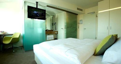 Ein Bett oder Betten in einem Zimmer der Unterkunft Best Western Plus Hotel Bremerhaven