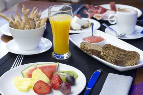 Opciones de desayuno disponibles en Gran Hotel Albacete