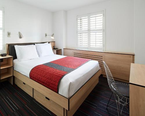 Cama o camas de una habitación en Pod 51
