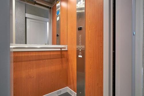 Salle de bains dans l'établissement Hotel Asterisk 3 star superior