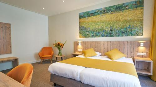 Un ou plusieurs lits dans un hébergement de l'établissement Hotel Asterisk 3 star superior