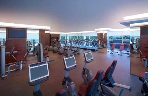 The fitness center and/or fitness facilities at Grand Hyatt Kuala Lumpur