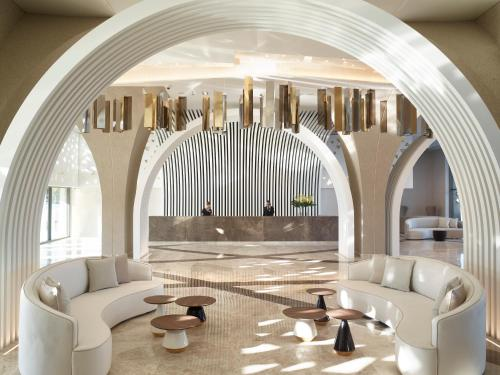 The lobby or reception area at Mayia Exclusive Resort & Spa - Adults Only