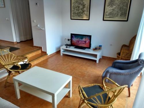 Uma área de estar em Campillo