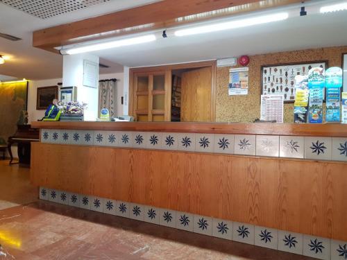 The lobby or reception area at Hotel Marina Playa De Palma