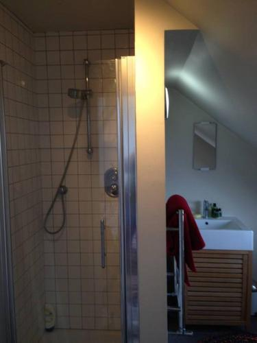 A bathroom at Fishponds Retreat Homestay