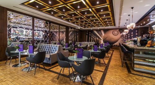 Hol lub bar w obiekcie Airport Hotel Okęcie