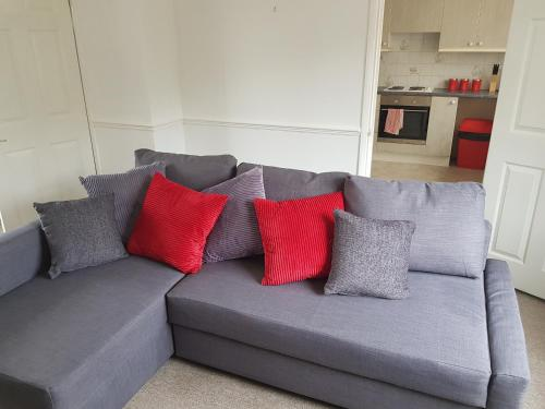 A seating area at Vetrelax Ipswich House