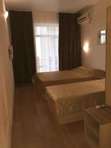 Кровать или кровати в номере Provans