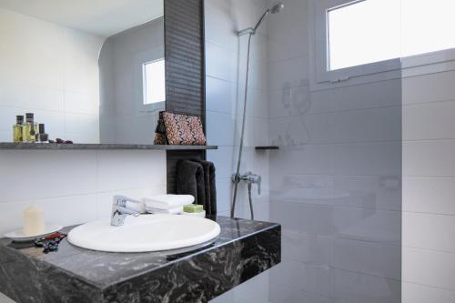 Salle de bains dans l'établissement Apartamentos El Guarapo