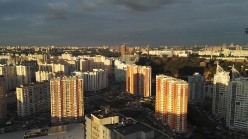 A bird's-eye view of Apartment on Avangardnaya