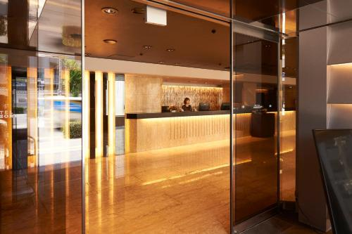 The lobby or reception area at Hotel Consort