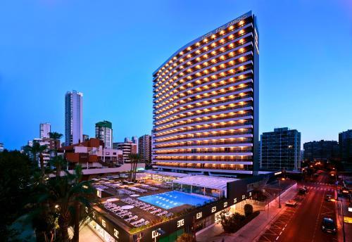 Vista de la piscina de Hotel Don Pancho - Adults Only o alrededores