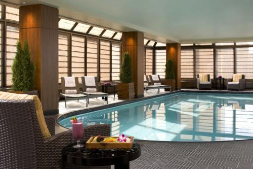 The swimming pool at or near The Peninsula New York