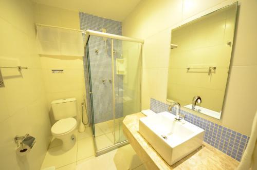 Um banheiro em Pousada Ana do Forte