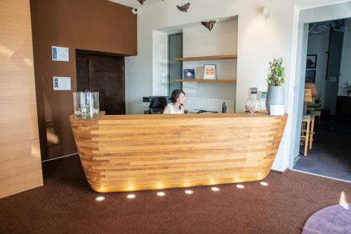 The lobby or reception area at Restaurant & Design Hotel Noem Arch