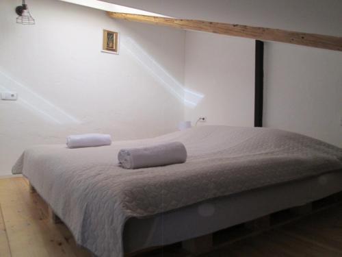 Кровать или кровати в номере Cozy Loft