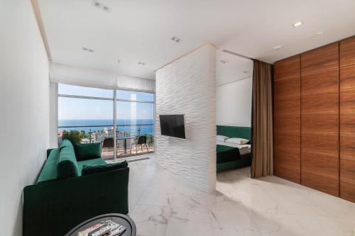 Гостиная зона в Apartments Barcelona-Park
