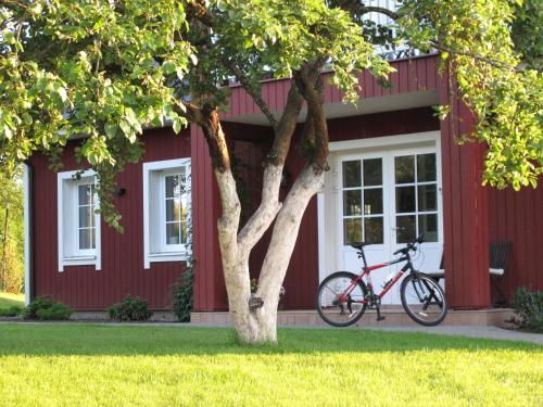 Jardín al aire libre en Villa Sofia Boutique Trakai