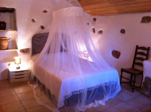 Un ou plusieurs lits dans un hébergement de l'établissement Caseddu di Chjarastella